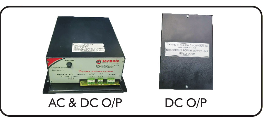 Emergency Power Supply with AC and DC output