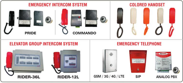 Elevator Intercom | Lift Intercom | Group Intercom | Elephone | SOS Phone
