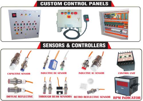 CUSTOM CONTROL PANELS | SENSORS & CONTROLLERS