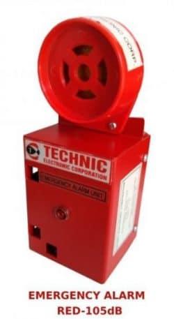 Emergency Alarm | Elevator Alarm | Lift Alarm | Emergency Alarm with Red Siren