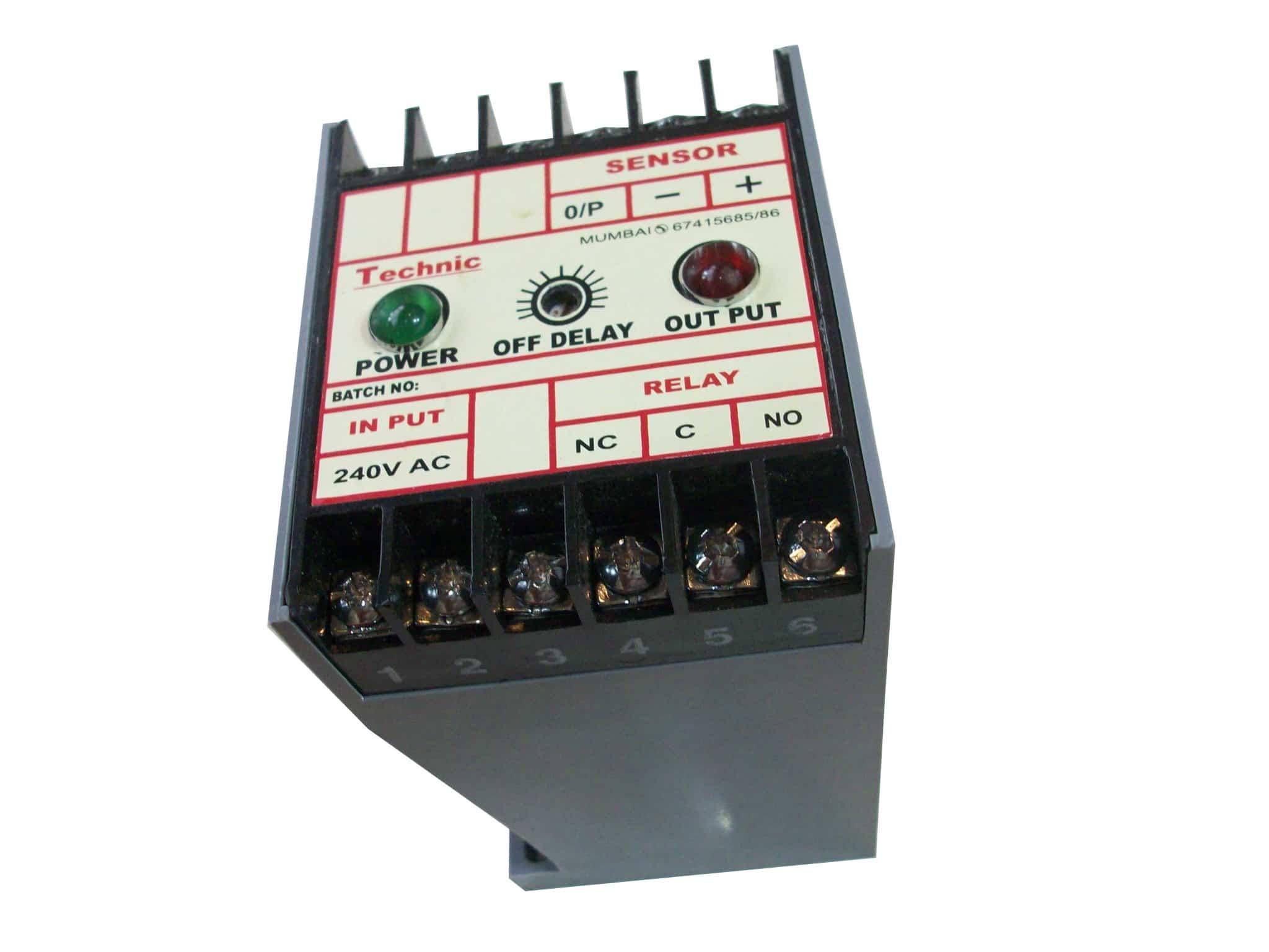 Control Unit for Sensors